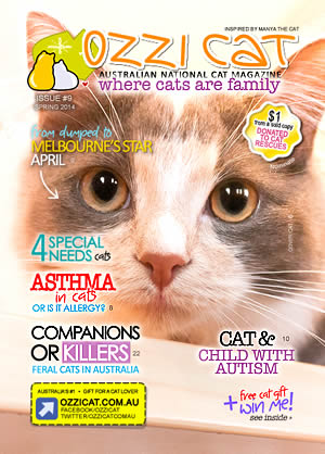 Issue #9 (Spring 2014) - Ozzi Cat Magazine for Cat Lovers and Cat Parents
