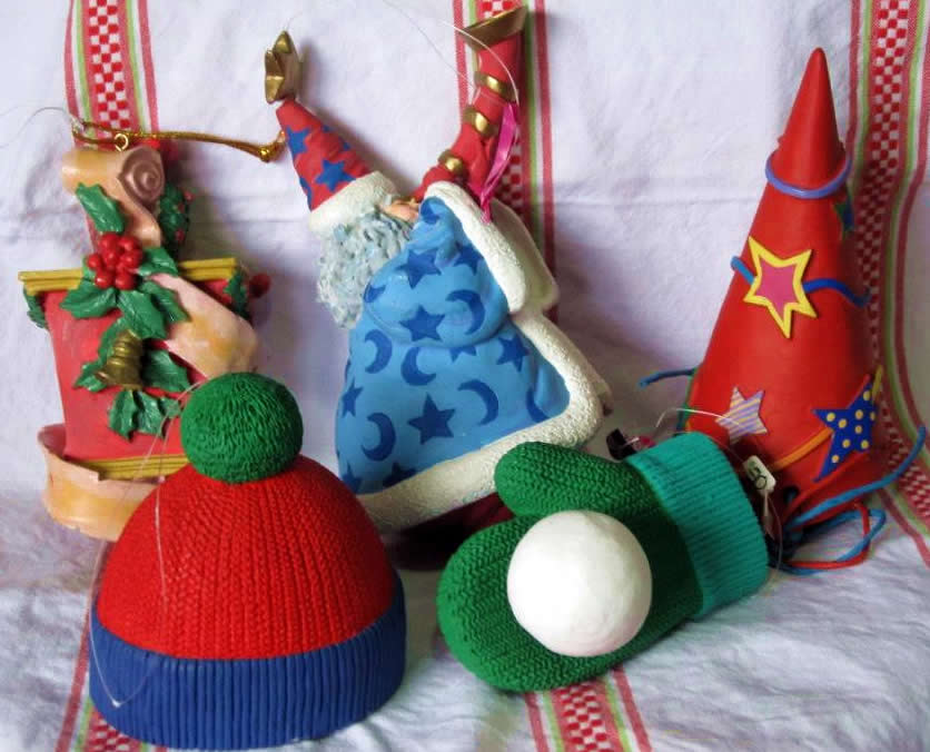 2nd Chance Cat Rescue - Xmas Auction - Assorted Xmas Decorations