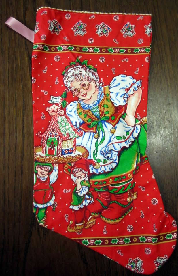 2nd Chance Cat Rescue - Xmas Auction - Handmade Xmas Stocking