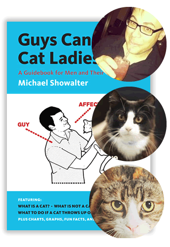 Cat Book: Guys Can Be Cat Ladies Too - giveaway winners