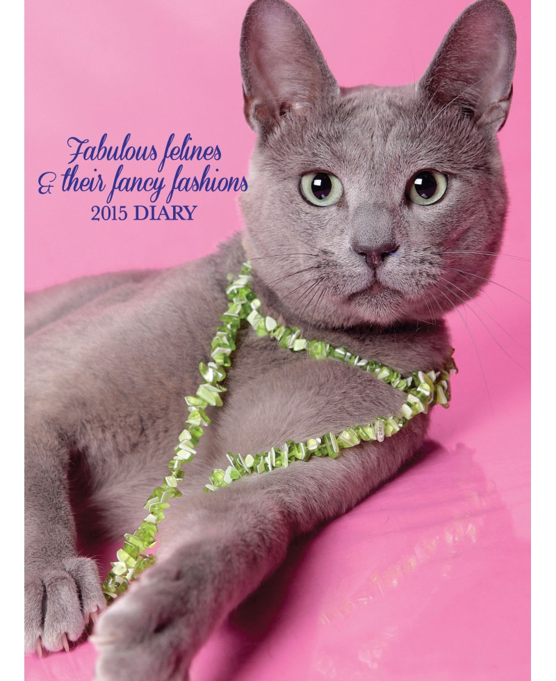 Cat Calendar 2015 - Fancy Felines - Fancy Fashion Diary