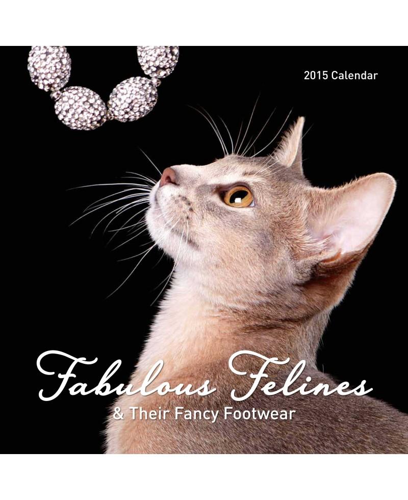 Cat Calendar 2015 - Fancy Felines - Fancy Fashion