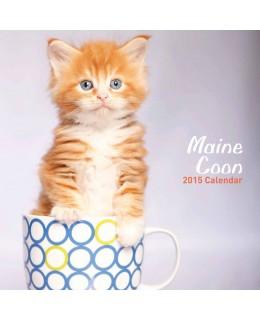 Cat calendar 2015 - Maine Coons Calendar