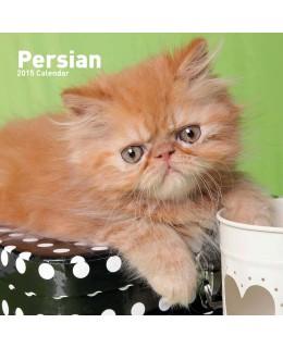 Cat calendar 2015 - Persians Calendar
