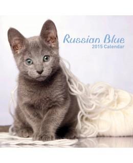 Cat calendar 2015 - Russian Blue Calendar