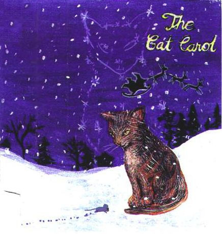 Christmas Song - The Cat Carol - cat as a star