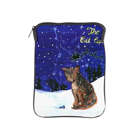 Gift for Cat Lover - Christmas Song - The Cat Carol - ipad sleeve