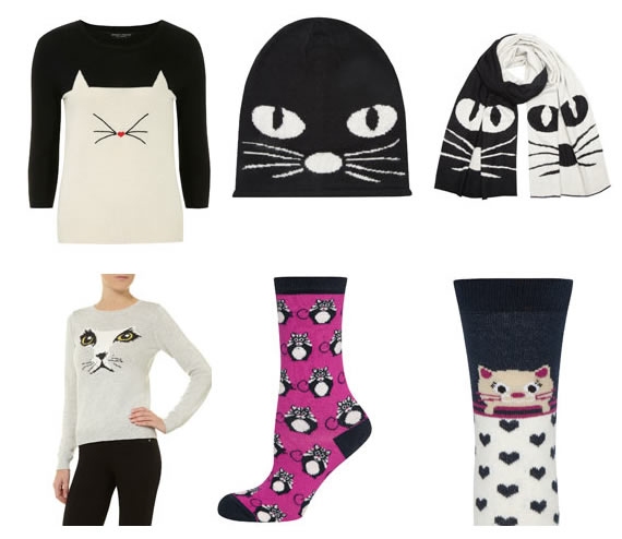 "Cat Product: Cat Cloths from Dorothy Perkins - Cat Lover's Pick - Featured in Australian National Cat Magazine ""Ozzi Cat"" 