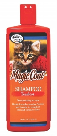 Four Paws Products Tearless Shampoo Cat