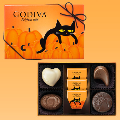 Godiva chocolate - Halloween cat box