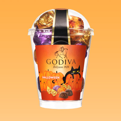 Godiva chocolate - Halloween cat cup