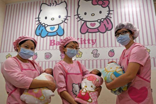 Hello Kitty Hospital in Taiwan