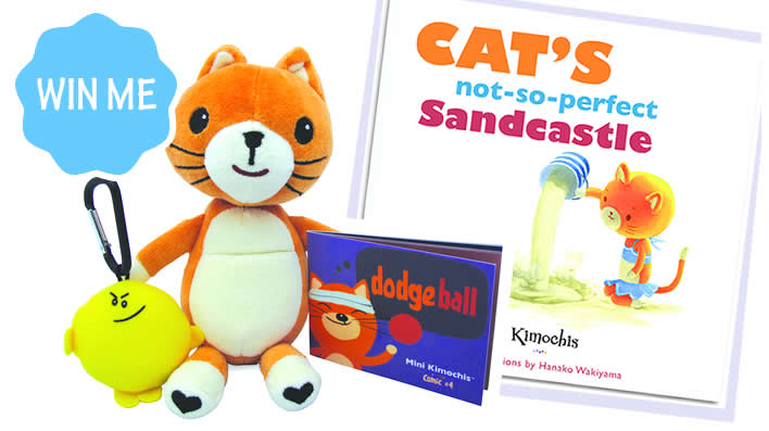 Kimochis cat toy with a purpose - giveaway