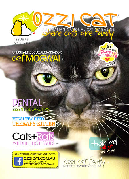Ozzi Cat - Australian National Cat Magazine - Issue 8 - Winter 2014