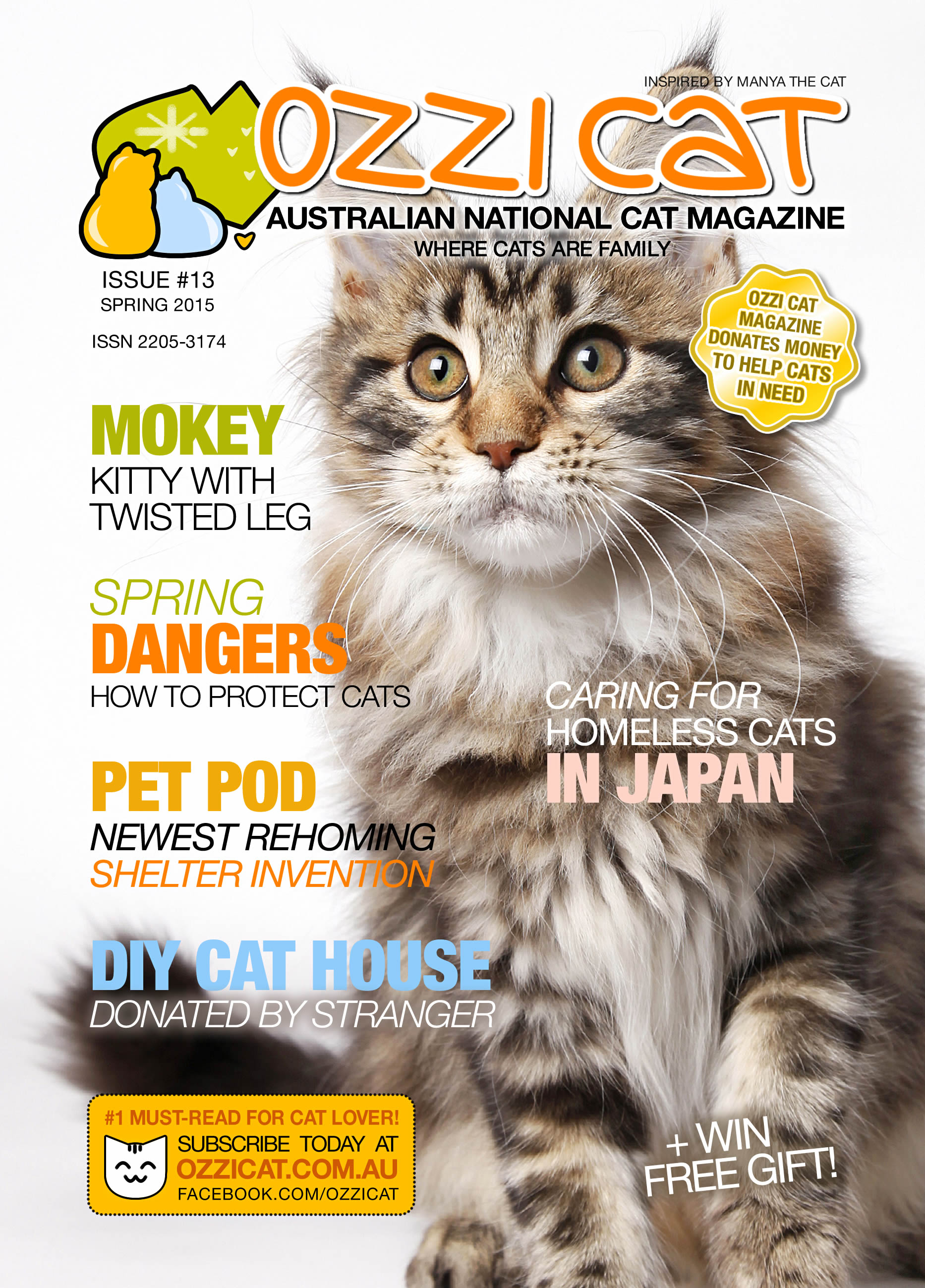 Ozzi Cat - Australian National Cat Magazine - Issue 13 - Spring 2015