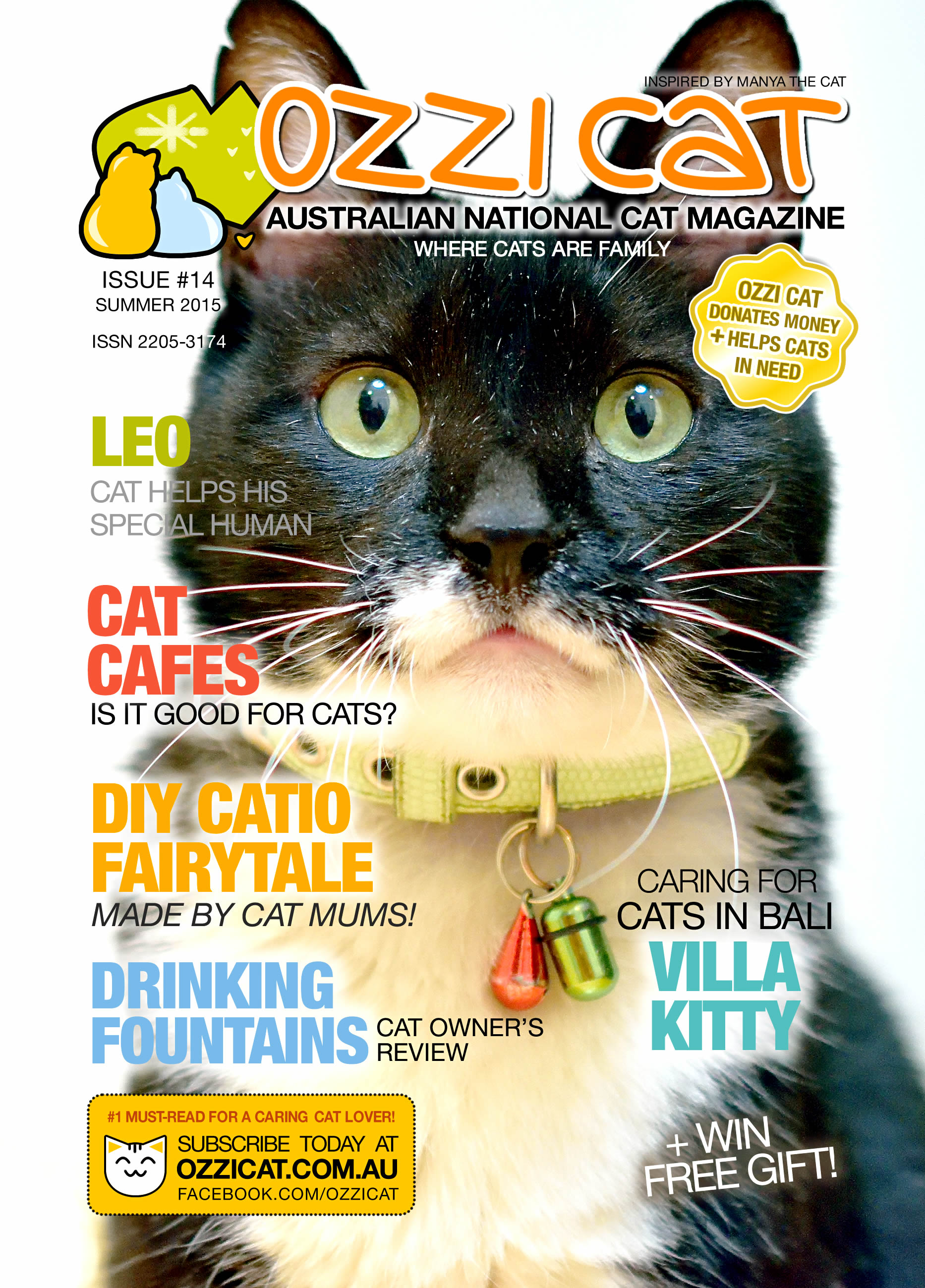Ozzi Cat - Australian National Cat Magazine - Issue 14 - Summer 2015
