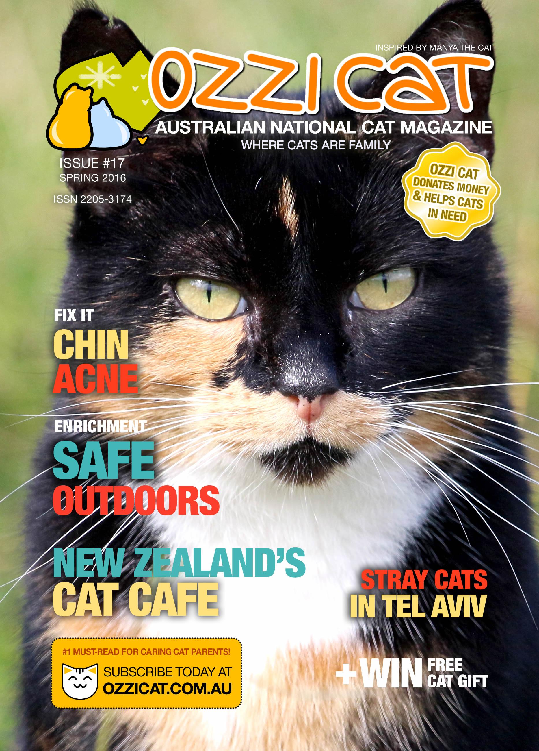 Ozzi Cat Magazine - Issue 17 - Spring 2016