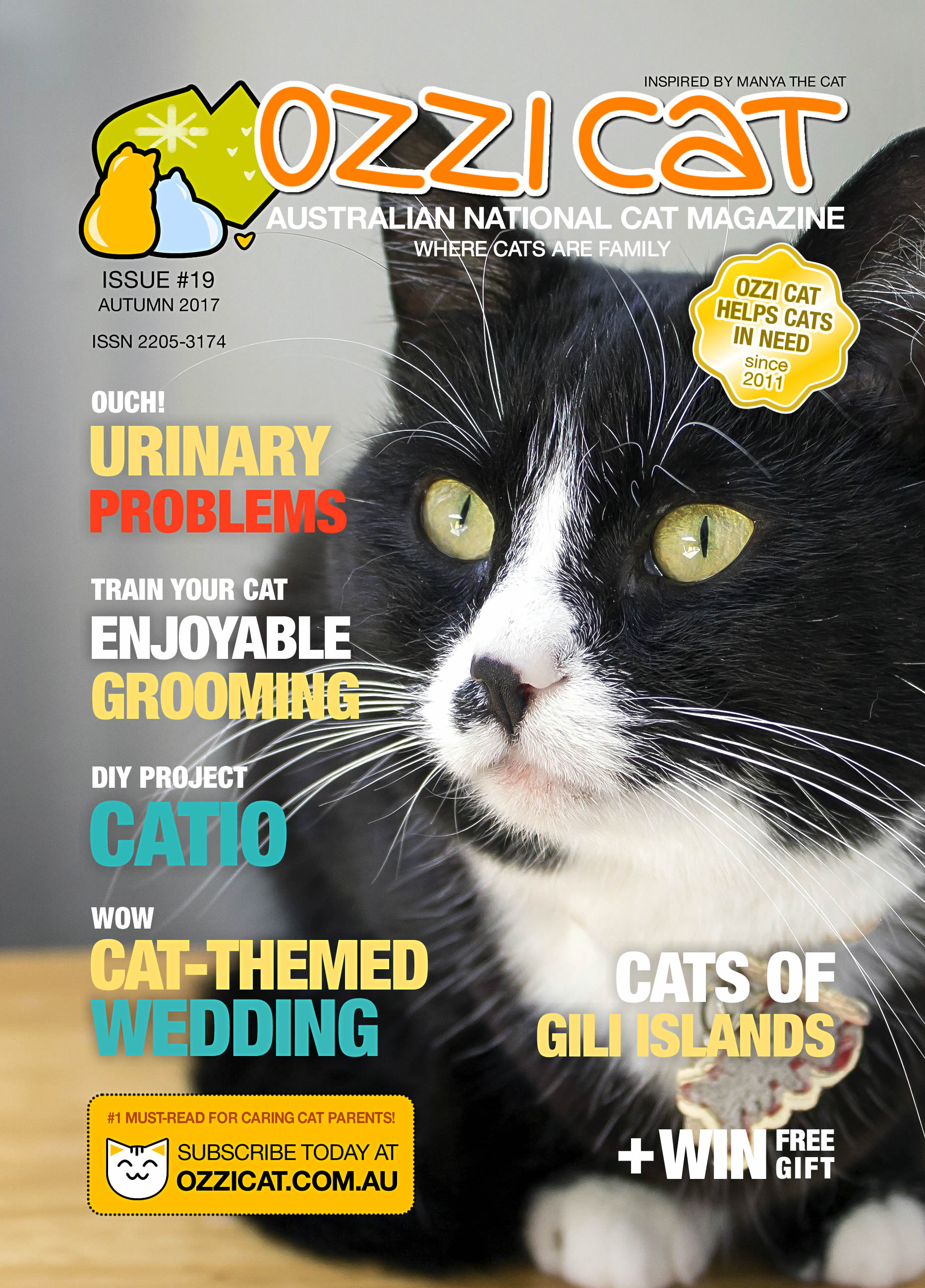 Ozzi Cat - Australian National Cat Magazine - Issue 19 - AUTUMN 2017