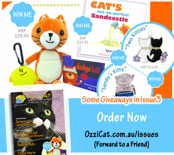 Ozzi Cat Magazine - Issue3 - giveaways