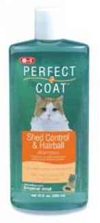 United Pet Group Eio - Perfect Coat Shed-hairball Control Shampoo for Cats