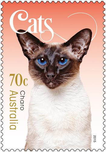 Cat stamp collection - Australia Post