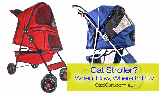 cat stroller - Australian cat blog - review - Ozzi Cat Magazine