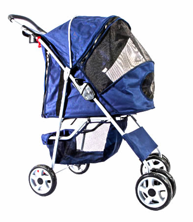 cat stroller - STURDY PET STROLLER