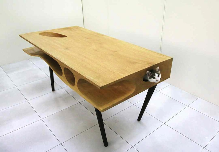 CATable - Cat Table - Cat-Friendly furniture designed for cats and cat owners