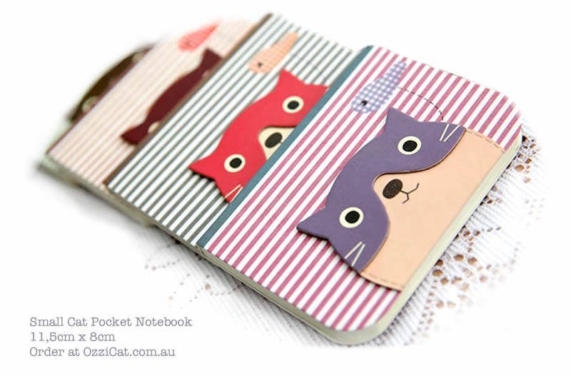Cute Cat-Themed Product - Cat Paper Notebook - Gift for Cat Lovers - Shop - Ozzi Cat Magazine Prize - Cat Lover's Pick