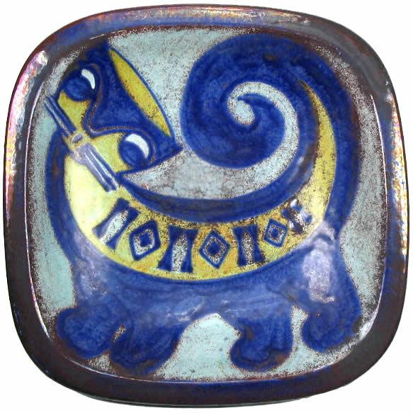 Marianne Starck - Andersen - Cat Plate