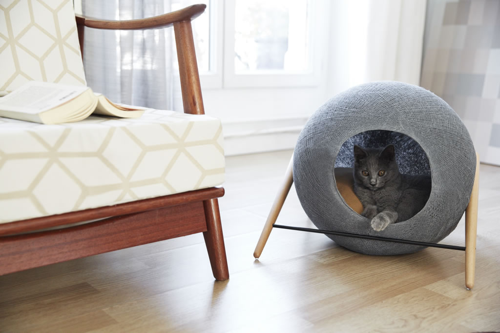 Meyou-Paris - cat bed - stylish furniture for cats