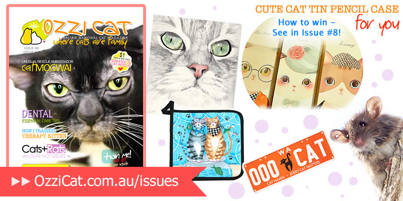 Ozzi Cat Magazine - Issue 8 - Winter 2014 | Australian National Cat Magazine