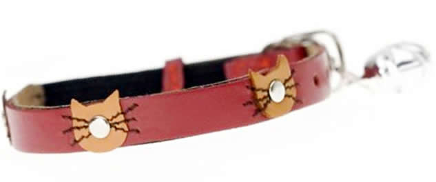 Paws and Co - Cat Collar - Felix Red