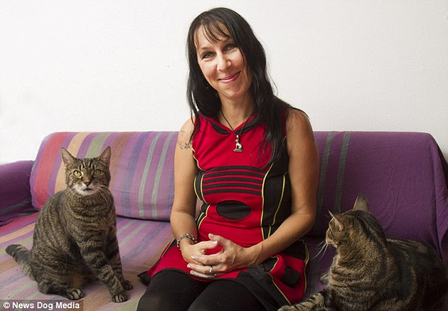 Woman Married To Her Male Tabby Cats